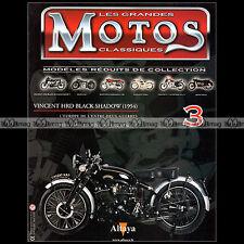 MOTOS CLASSIQUES N°3 ★ VINCENT HRD 1000 BLACK SHADOW Modèle 1954 ★ GEORGE BROWN