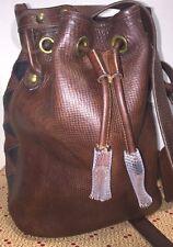 Dooney & Bourke*Aztec*Drawstring Bag*Shoulder Bag Crossbody* 17323G S162