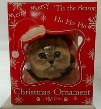 NEW Persian Cat Ornament Christmas Ball from E&S Pets