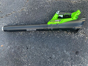 Greenworks 40V Electric Leaf Blower, 430 CFM / 115 MPH Tool Only