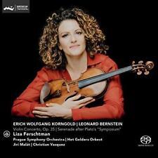 Liza Ferschtman - Korngold: Violin Concerto, Op. 35; Bernstein: Seren (NEW SACD)
