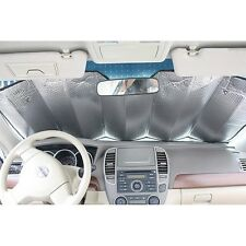 Reflective Car Sun Shade Universal Folding Foil Windscreen Front Rear Sun Shade