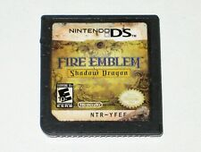 *Authentic & Full Working Condition* Nintendo DS Game Fire Emblem Shadow Dragon