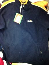 DIADORA SWEATSHIRTS FLEECE IN NAVY/ orange 3r6/3 38/40 NCH BNWL EMBROIDED AT £20