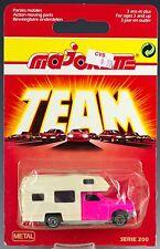 Majorette Die Cast #278 Camping Car Camper Pickup Pink MOC