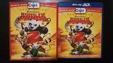 Kung Fu Panda 2 3D (Blu-ray, 2012, 3D) OOP Best Buy Exclusive w/ Rare Slipcover