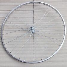 Radsport Fahrrad Vorder Rad 26 Zoll Standard Stahl chrom mit 36 Loch Nabe Zink Speichen