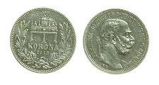 pcc1350_6) Österreich 1 Korona 1915 K.B. - Franz Joseph I. Hungary