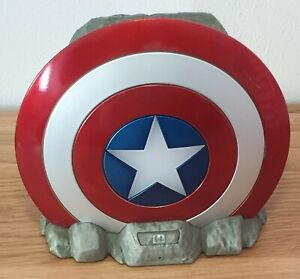 Marvel Captain America Shield Wireless Bluetooth Speaker with Light