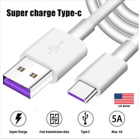 5A Type C Line USB 3.0 to USB C 3.1 Fast Charger Data Cable for Samsung Huawei