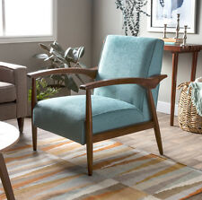 Accent Chairs For Living Room Wood With Arm Rest Modern Vintage Accent Seating