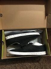 New Globe Lyte Skateboard Sneakers Shoes Black Mesh White Size 9