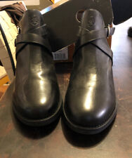 Ariat Windsor Boots Womens 6 Black Straps Buckle 91501 w/ Box