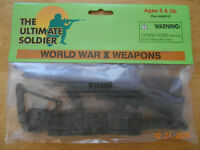 Ultimate Soldier 21st Century Toys WWII weapon set.  UNOPENED