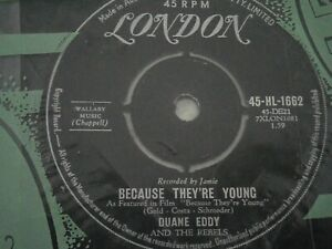 DUANE EDDY and the REBELS - BECAUSE THEY'RE YOUNG