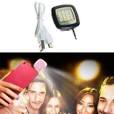 Mini Selfie Portable Smart LED Camera Flash Light For Smart Phone Rechargeable
