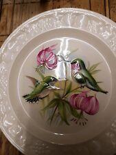 "Palissy Crown Ware American Bird Series ""Humming birds"" Collectors Plate"