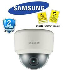 """BR Samsung SND-3082P 1/3"""" 4CIF True Day/Night Network Dome Camera with WDR & SD"""