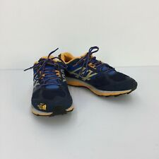 North Face Ultra Guide Trail Cosmic Blue & Koi Orange Men Running Shoes Size 10