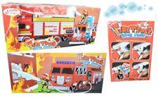 Kids Stream Fire Rescue TRUCK bolla VENTOLA giocattolo Playset Bambini Regalo Divertente RICARICA