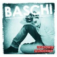 "BASCHI ""IRGENDWIE WUNDERBAR"" CD 2 TRACK SINGLE NEU"