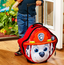 Luggage for Boys Kids Rolling Fabric Softside Small Travel Suitcase Paw Patrol