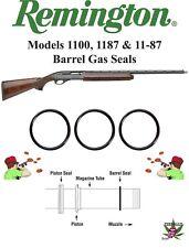 Remington Shotgun 1100 1187 11-87 12ga Barrel Gas Seal, Viton O-ring KIT, Qty 3