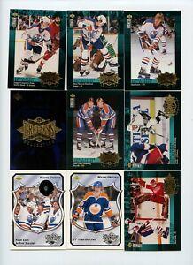 Lot Of (108) Wayne Gretzky Premium Insert Cards Retro Upper Deck Topps Score MVP