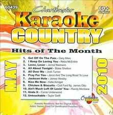 Various Artists : Karaoke: Country Hits of Month - May 201 CD