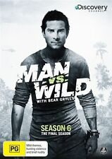 Man Vs Wild : Season 6 (DVD, 2012, 3-Disc Set) Region 4