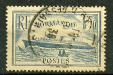 PROMO / TIMBRE FRANCE OBLITERE N° 300 PAQUEBOT NORMANDIE COTE 20 €
