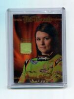 DANICA PATRICK 2010 PRESS PASS HOT THREADS RACE USED FIRESUIT PATCH CARD #56/299