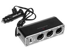 USB cargador de coche cigarrillo de suministro Triple Socket Extension uked