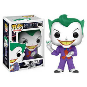 The Joker Batman the Animated Series Pop! Vinyl Figure by Funko NIB 155