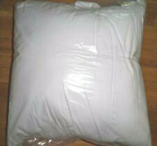 22 x22  White Pillow Insert  Polyester w/ cotton Cover NEW