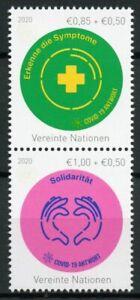 Vienna United Nations UN Medical Stamps 2020 MNH Corona Response 2v Set