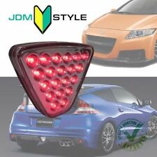 JDM Honda FIT CR-Z Jazz Mugen Rear Bumper Fog Light Lamp Triangle LED Clear RED