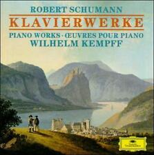 Schumann: Piano Works [4 CDs] (CD, Nov-1991, 4 Discs, Deutsche Grammophon)