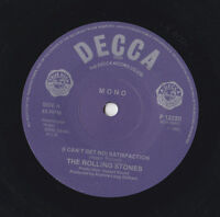 THE ROLLING STONES * (I CAN'T GET NO) SATISFACTION  SOLID CENTRE REISSUE F 12220