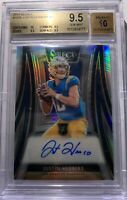 Justin Herbert Select XRC Rookie Auto /49, BGS 9.5 With 10 Sub Grade! ROY 🔥🔥🔥