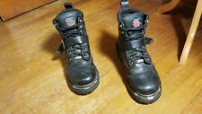 "Milwaukee Men 5.5"" Biker Motor Cycle Boots Black Leather 7.5 C Narrow"
