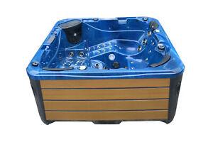 Outdoor Whirlpool Gartenpool Balboa USA WIFI 93 Düsen Hot Tub SPA REVOLUTION
