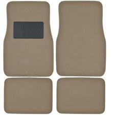 Carxs Premium Carpet Floor Mats With Heel Pad For Car Truck Suv 4pc Set Med Beige Fits 2003 Honda Pilot