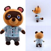 Animal Crossing Tom Nook Raccoon Plush Toy Soft Stuffed Doll Anime Game Gift