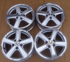 (4)  03 04 05 Genuine Honda Accord 5 Spoke By Enkei 16 x 6.5 OEM Wheel Rims Set