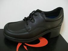 Start-rite black leather laced shoes size 7G UK - 41 EU