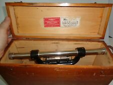 Starret Co Builders Level And Transit With Fitted Case Great Condition 99