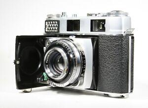 Serviced CLA'd w 6 Months Warranty Kodak Retina IIIC Big C Rangefinder Camera