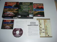 HUMAN ONSLAUGHT (War Wind II) Pc Cd Rom Original BIG BOX - Fast Post