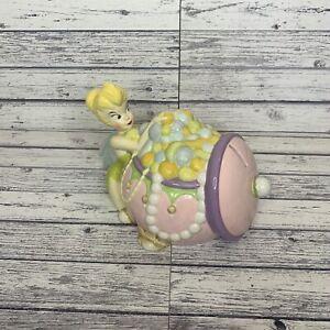 Disney Peter Pan Tinkerbell Money Box Ceramic Coin Bank